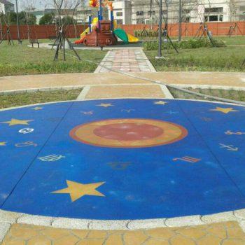 創意彩繪地坪