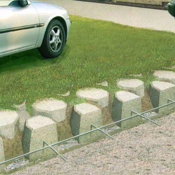 防沉陷環保透水植草磚